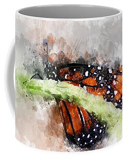 Butterfly Watercolor Coffee Mug