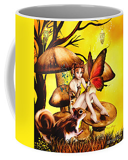 Butterfly Wing Envy Coffee Mug