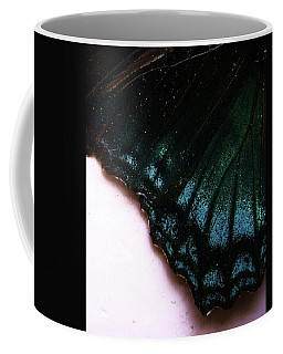 Butterfly Wing Coffee Mug by Mary Ellen Frazee