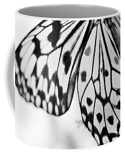 Butterfly Wings 3 - Black And White Coffee Mug