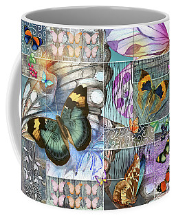 Butterfly Wings Collage Coffee Mug