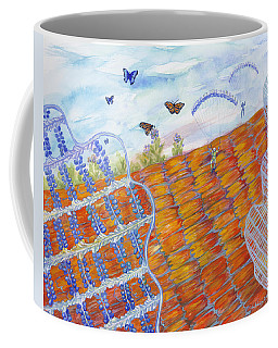 Butterfly's Wings Coffee Mug