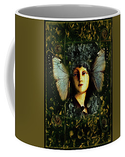 Butterfly Woman Coffee Mug