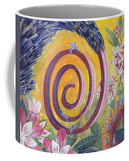 Butterfly's 'tongue' Coffee Mug
