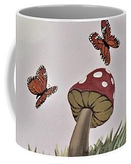 Butterlies Dancing Coffee Mug