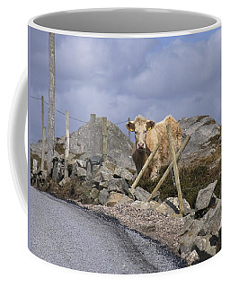 Coffee Mug featuring the photograph Butterscotch by Suzanne Oesterling