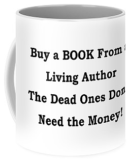 Buy From Living Author Coffee Mug