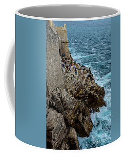 Buza Bar On The Adriatic In Dubrovnik Croatia Coffee Mug