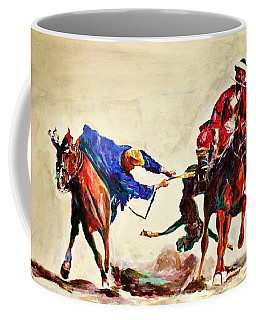 Buzkashi, A Power Game Coffee Mug