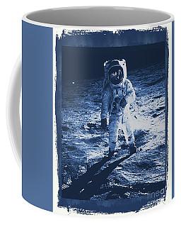 Buzz Aldrin On The Moon, Apollo 11, Nasa Coffee Mug