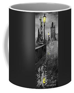 Bw Prague Charles Bridge 01 Coffee Mug