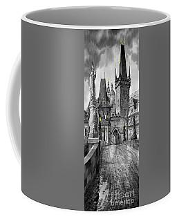 Bw Prague Charles Bridge 02 Coffee Mug