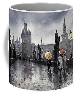 Bw Prague Charles Bridge 05 Coffee Mug
