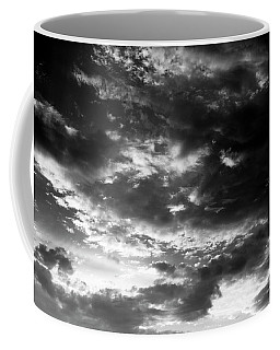 Coffee Mug featuring the photograph Bw Sky by Eric Christopher Jackson