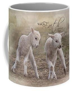 Coffee Mug featuring the photograph By Faith by Robin-Lee Vieira