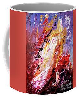 By Herself 3 Coffee Mug by Jasna Dragun