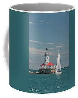 By The Lighthouse Coffee Mug