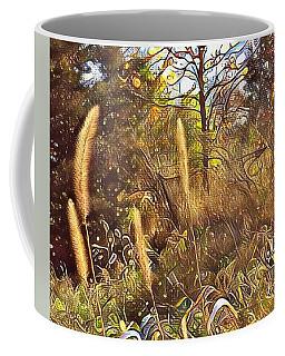 By The Railroad Tracks Coffee Mug