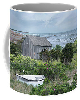 Coffee Mug featuring the photograph By The Sea by Robin-Lee Vieira
