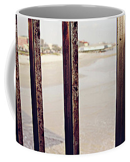 Coffee Mug featuring the photograph By The Sea by Trish Mistric