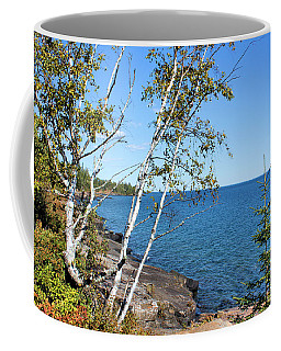 By The Shores Of Gitche Gumee Coffee Mug