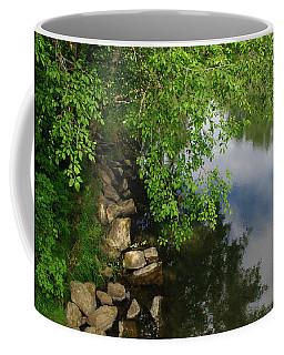 Coffee Mug featuring the photograph By The Still Waters by Tikvah's Hope