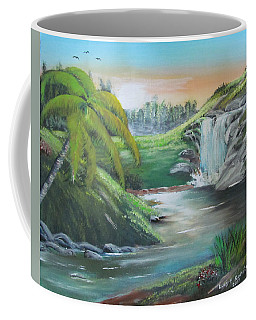 By The Waterfall Coffee Mug