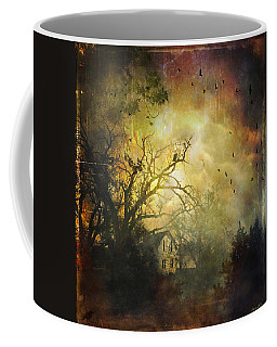 Bygone House On The Hill Coffee Mug