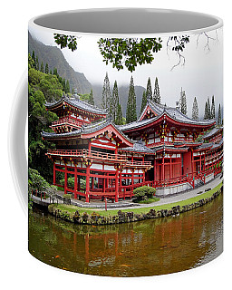 Byodo-in Temple Oahu Coffee Mug