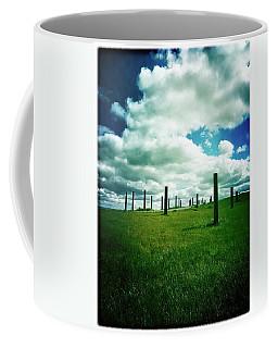 Byxbee Pole Field Coffee Mug