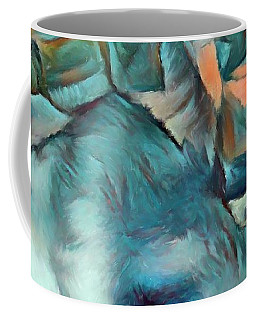 Byzantine Abstraction Coffee Mug