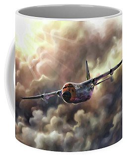 C-130 Hercules Coffee Mug by Dave Luebbert