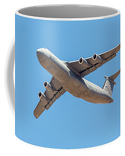 Coffee Mug featuring the photograph C5 Galaxy In Flight by SR Green