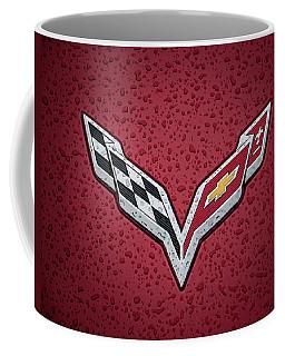 C7 Badge Red Coffee Mug