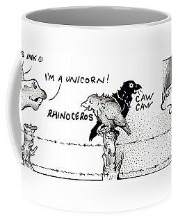 Caaw Caaw Fpi Cartoon Coffee Mug