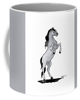 Caballo Coffee Mug by Edwin Alverio