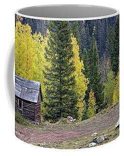 Cabin Beside Aspens Coffee Mug