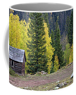 Cabin Beside Aspens Coffee Mug
