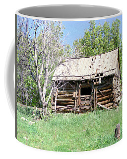 Cabin In The Mountains Coffee Mug