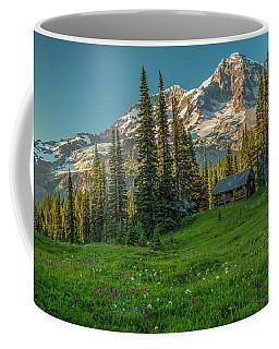 Cabin On The Hill Coffee Mug
