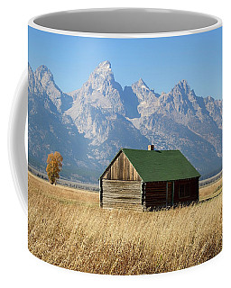 Cabin With A View Coffee Mug by Shirley Mitchell