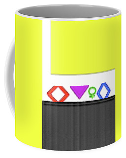 Coffee Mug featuring the photograph Cabinet by Tina M Wenger