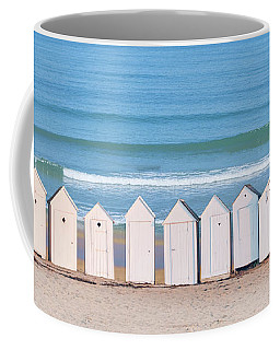 Coffee Mug featuring the photograph Cabins by Delphimages Photo Creations