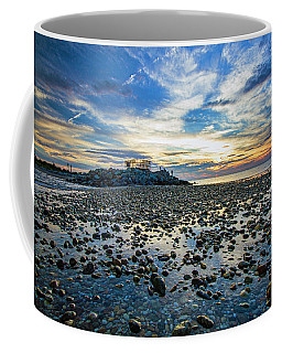 Cable Crossing Orient Point Sunset Coffee Mug