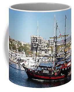Cabo Legend Pirate Ships Coffee Mug
