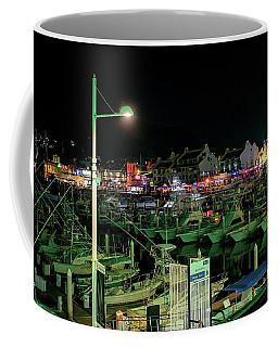 Cabo Marina At Night Coffee Mug