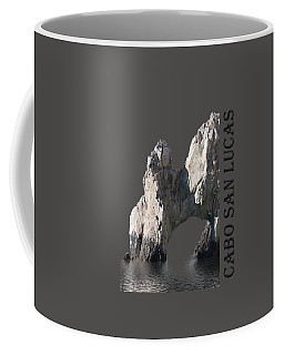 Coffee Mug featuring the photograph Cabo San Lucas Archway by Shane Bechler