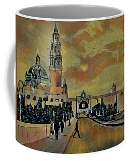Cabrillo Bridge And Museum Of Man Coffee Mug