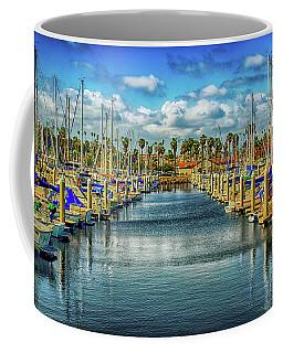 Coffee Mug featuring the photograph Cabrillo Marina  by Joseph Hollingsworth