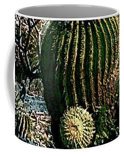 Coffee Mug featuring the photograph Cacti by Lori Seaman